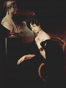 Cristina Trivulzio di Belgiojoso - di Francesco Hayez, 1832