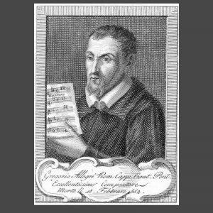 Gregorio Allegri (Roma, 1582 circa – Roma, 17 febbraio 1652)