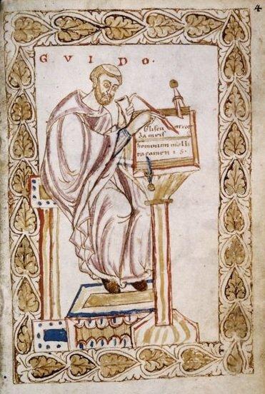 Gui l'Arétin Guido d'Arezzo
