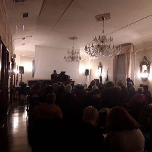 Foto concerto 27 genn. 2019 (vl. solo) - Circolo Ufficiali Marina Militare Napoli