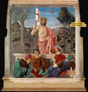resurrezione di piero della francesca anno 1463